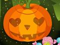 Tierna calabaza de Halloween