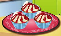 Körsbärscupcakes: Saras kockskola
