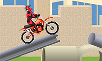 Enduro 1: Construction Site - Motorbike Game