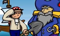 Búsqueda del tesoro del capitán pirata