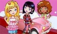 Para Gadis Diatas Roda