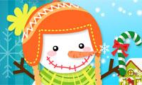 Muñeco de nieve monísimo