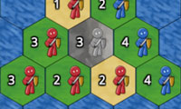 Hex Battles: 2 Player Hexagon Strategy Game