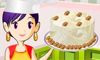 Lekcje gotowania z Sarą: Ciasto marchw.