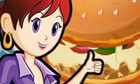 Pizza Burgers: Sara's Cooking Class