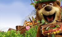 Yogi Bear: Pic-a-Nic Basket Catapult