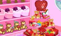Укрась магазин в день Валентина