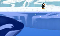 Pengu In Trouble: Run Game