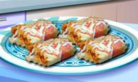 Lasagna Roll-Ups: Sara's Cooking Class
