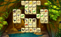 Mahjong im wilden Afrika