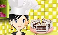 Gâteau glacé : École de cuisine de Sara