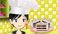 Glasstårta: Saras kockskola