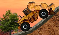 Bulldozer Mania: Monster Truck Game