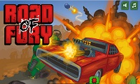 Road of Fury: Zombie Survival Game
