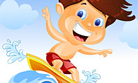 Surf Mania: Water Game