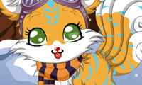 Winter Fox: Anime Dress Up Game