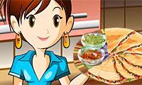 Quesadilla: Lekcje gotowania z Sara