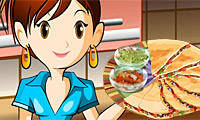 кесадилья: Кухня Сары