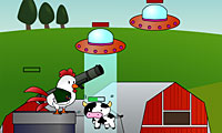 Bazooka Chicken: Shooter Game