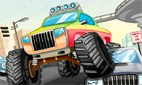 Parkera monstertruck