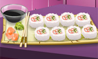 California Rolls: Sara's Cooking Class