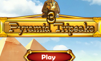 Tre picchi piramidali 3D