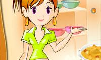 тыквенный суп: Кухня Сары