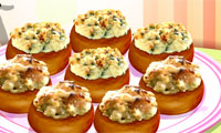 Sara's Cooking Class: Stuffed Mushrooms
