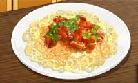 Spaghetti - Sara's Cooking Class