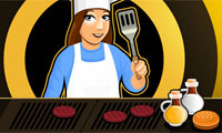 Burger Bar: Restaurant Food Serving Game