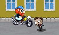 De zombies willen mijn motor