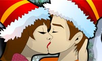 Новогодний поцелуй