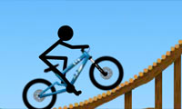Stickman Freeride: Bike Game