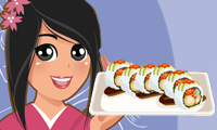 Dragon Roll Sushi: Cooking Game