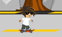 Skateboard fusée