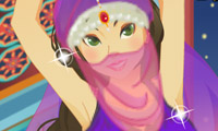 Belly Dancer Girl Perfect Dress-Up