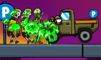 Voitures contre zombies