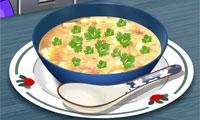картофельный суп: Кухня Сары