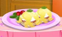 """Кухня Сары: яйца """"""""Бенедикт"""""""""""