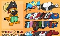 Garfield Dress Up
