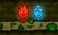 Fireboy and Watergirl: The Forest Temple - 2 Player Game