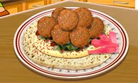 Falafel: Saras kockskola