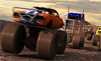 Racen met je monstertruck