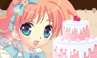 Украшаем цветочный торт