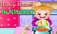 Piccola Hazel: in cucina
