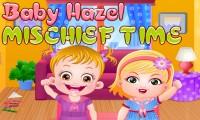 Bébé Hazel : l'heure des bêtises