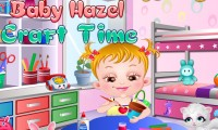 Bébé Hazel : travaux manuels