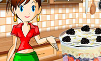 бисквит со сливками: Кухня Сары