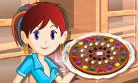 Pizza chocolat: École de cuisine de Sara