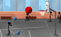 Stix Street Basketball: Stickman Game